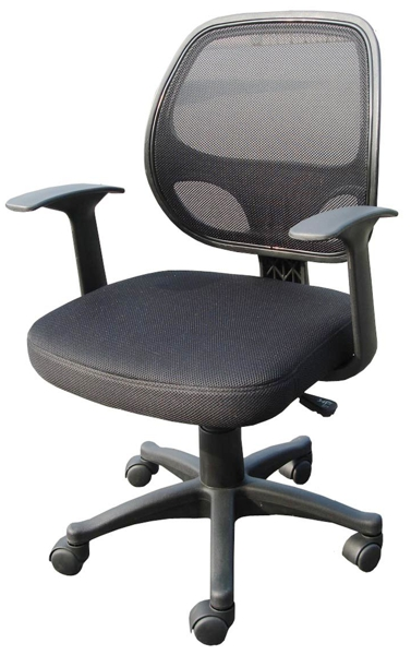 : Office Chair Back View , Computer , Desk , Office Chair Side
