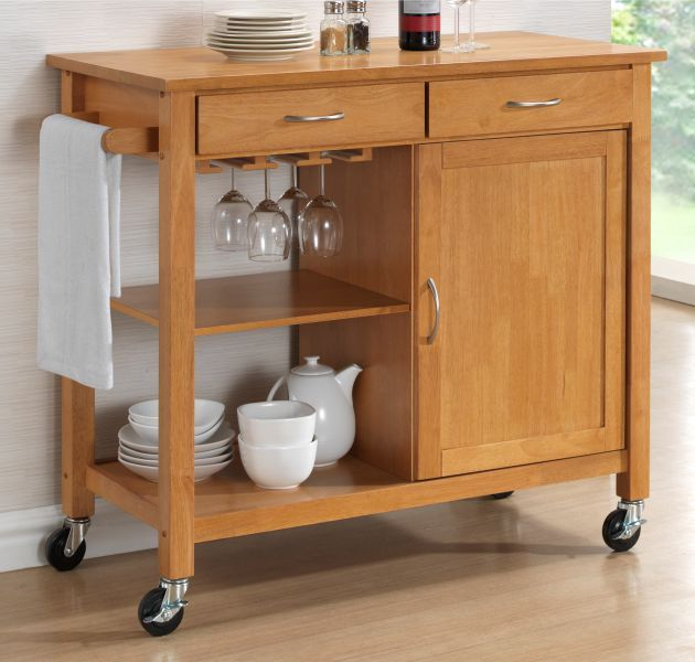 Hardwood Oak Finish Kitchen Trolleys Half Price Sale Now  : harrogate hardwood oak finish kitchen trolley 1 2 price deal 2392 p from www.yourpricefurniture.com size 630 x 600 jpeg 51kB