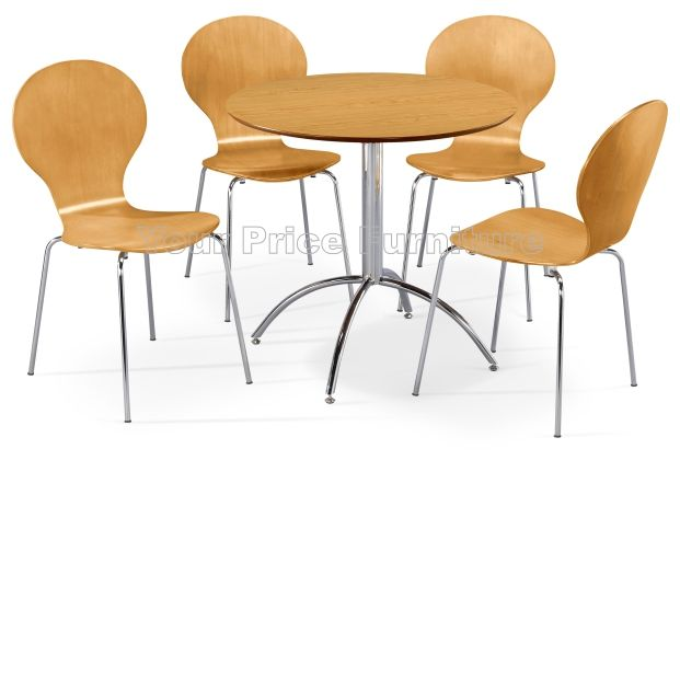 Kimberley Dining Set Natural Table & 4 Natural Chairs Sale
