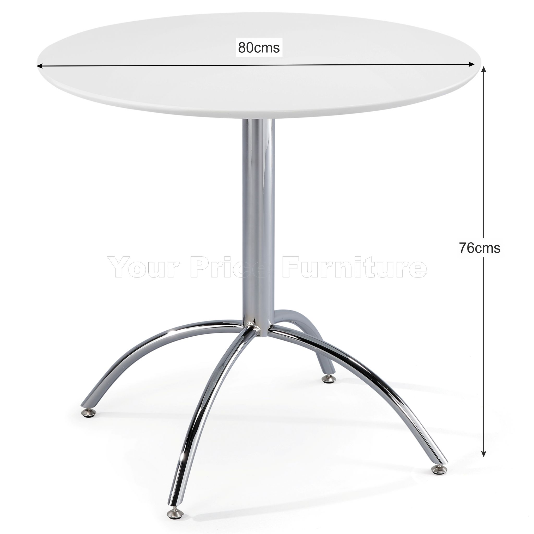 Kimberley dining set white 2 black chairs sale now on for Dining table set deals