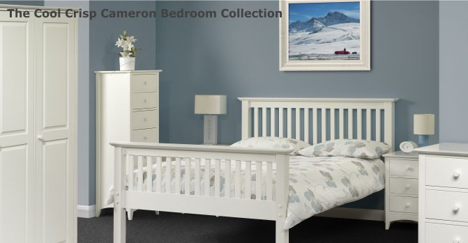 Beautiful White Painted Bedroom Furniture | The Cameron Collection