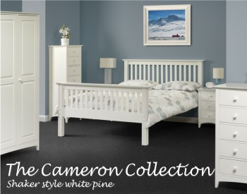 cameron white painted bedroom furniture sale now on your price, Bedroom decor