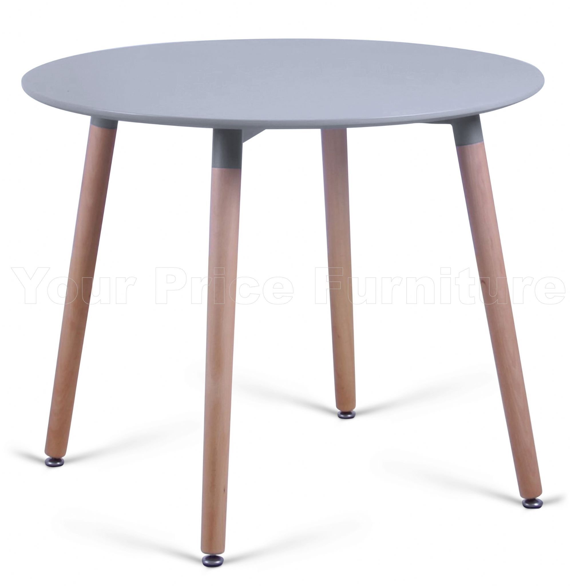 Eiffel grey designer dining table round small sale now on for Small round dining table