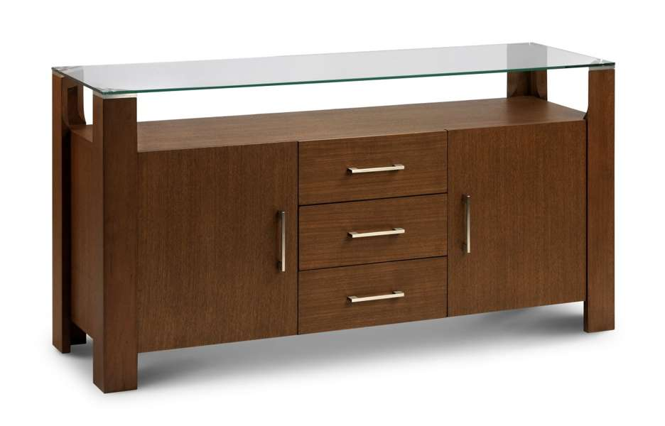 - Milton Walnut & Glass Sideboard Sale Now On Your Price Furniture