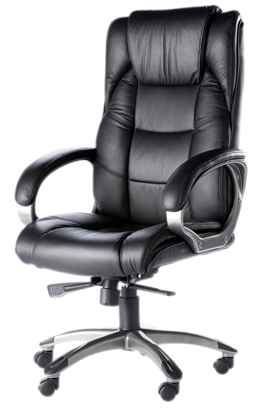 Norway High Back Soft Feel Leather Executive Office Chair Black
