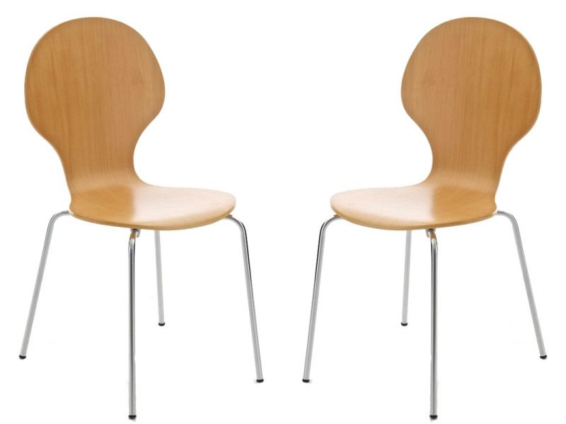 Kimberley Natural Chrome Dining Chairs Now On Your Furniture
