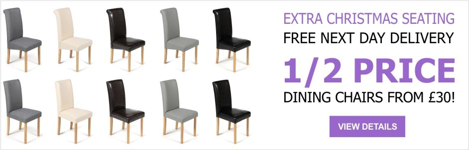 See Our Amazing Christmas Deals on Dining Chairs, Bar Stools, Dining Sers and Garden Benches